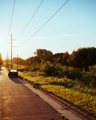 Monday (DaneboyMeetsWorld) Tags: mn minnesota car sun morning color bright warm grass summer canon 5d mark ii 35mm f2 is