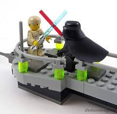10123 Luke and Vader on the platform (drdavewatford) Tags: lego starwars cloudcity 10123 lukeskywalker darthvader minifigures