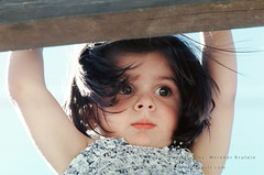 Girl in the Playground (Vern Krutein) Tags: children child young youngster youth childhood little kid preteen people human person humanbeing portrait ninos girl female lady caucasian face usa