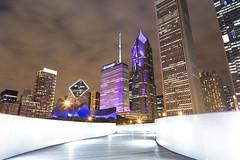 BP Pedestrian Bridge. (Rares M. Dutu) Tags: chicago gorgeous bppedestrianbridge maggie maggiedaley daley park love relax me photographer canon longexposure canon6d canon24105 canonl llens wide wideangle