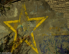 Chernobyl Graffiti (Dave and Jodi Piddington) Tags: chernobyl ukraine holiday decay abandonedbuildings death history nucleardisaster accident travel dark tourism darktourism photography architecture nuclear disasters adventure kiev blackandwhite