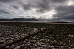 Bad Weather - Llandudno Beach, West Shore, Wales. (Tony McD) Tags: badweatherllandudnobeach wales rain wet beach grey clouds beauty llandudno nikon nikkor d610 24mm prime hoya f13 pebbles llanfairfechan