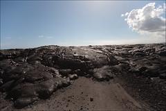 black lava (lhirlimann) Tags: canonef1635mmf28lusm canoneos5d hawaiiisland bigisland hawaii landscape paysage usa kalapana unitedstates hawaiiisland lave lava road route