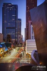 City of Angels - Los Angeles (JAKE PINEDA) Tags: los angeles city angels downtown la cityscape walt disney concert hall nikon d810 nikkor 2485 f3545 hdr long exposure sunset