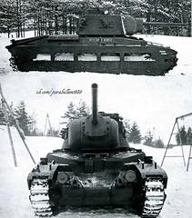 Matilda with 76mm cannon (Soviet version)