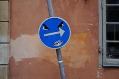 20160421-O (Heinrock) Tags: art face gamlastan panasoniclumixdmcgx1 sign stockholm streetart sweden