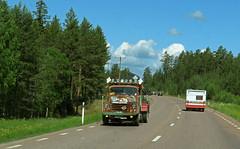 Volvo L375 Starke from 1950s (Burminordlicht) Tags: volvotruck veteranfordon lastbil rust veteranbil lastwagen