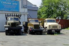 Vladivostok 81 (Alexxx1979) Tags: 2015 august automobile bm13 car historianmechanicmuseumautomotoantiquity museum primorskykrai russia summer truck vladivostok zil zil157   13 13 1327  51 53   157      gaz gaz51 gaz53