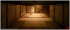Old dark rooms in Koto-in temple, Kyoto (Damien Douxchamps) Tags: japan  japon kansai  kinki  kyoto   northern north  daitokuji templecomplex temple     koutouin kotoin  zengarden   subtemple  tatchu wabisabi  sukiyaarchitecture  dark lowlight tatami fusuma