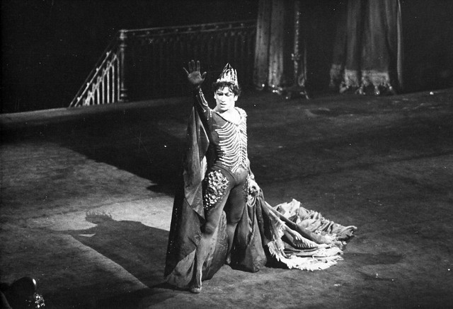 Alexander Grant as Tirrenio in 'Ondine' in 1958 © Roger Wood/ROH 1958