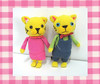 Pareja de gatitos (Daiverdei) Tags: cat toys handmade crochet gatos amigurumi kawai ganchillo
