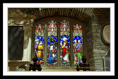 Cathedral Window (donegalblaze) Tags: ireland irish church river catholic cathedral prayer chapel historic aisle holy londonderry service walls mass northern alter protestant derry siege ulster walled foyle cityside doire maidencity londonder
