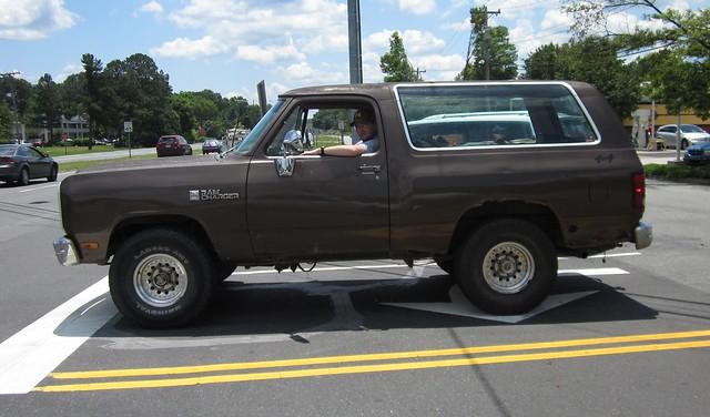 truck nc 4x4 north carolina dodge suv 1985 1990 ramcharger ncnick