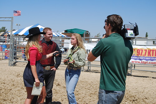 Press Conference for PRCA Ca Circuit Finals Rodeo with Jacob Nelson and Molly Wineland
