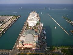Navy Pier (mattheuxphoto) Tags: chicago illinois downtown lakemichigan lakeshoredrive navypier downtownchicago chicagoillinois lakepointtower