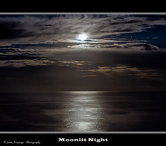 Moonlit Night (John_Armytage) Tags: ocean sea moon seascape reflection clouds nightscape australia fullmoon nsw moonlight canon5d avalon shimmer northernbeaches canon1635l johnarmytage wwwjohnarmytagephotographycom avalonheadland