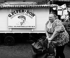 Fresh Fish Daily (Ian Brumpton) Tags: street urban blackandwhite monochrome noiretblanc market londres freshfishdaily ianbrumpton aimlessstrolling