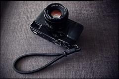 Fujifilm X-Pro1 (patrickbraun.net) Tags: black cameraporn wriststrap gordys panasoniclumixg20mmf17asph olympuspenepm1 fujifilmxpro1 fujinonxf35mmf14r