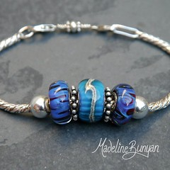 "Cored Beads on a bracelet • <a style=""font-size:0.8em;"" href=""https://www.flickr.com/photos/37516896@N05/7251235580/"" target=""_blank"">View on Flickr</a>"