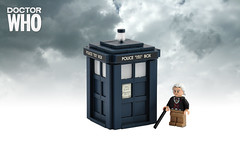 A Mad Man with a Box (Xenomurphy) Tags: lego who doctor doctorwho timetravel tardis timelord hartnell