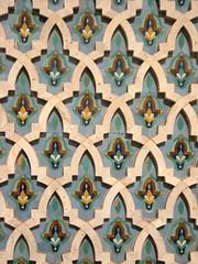 Islamic detail, Hassan II Mosque (bodythongs) Tags: africa travel detail art tourism canon photography pattern minaret muslim august mosque ixus morocco maroc casablanca michel largest tallest hassanii islamis pinseau bodythongs
