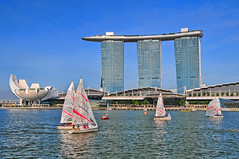 Marina Bay Sands update... May 2012 (williamcho) Tags: tourism architecture boats hotel famous sails casino boating audi gem attraction classy extravagant stateoftheart marinabaysands flickraward riverpromenade marinabaysingapore nikonflickraward theshoppes olétusfotos topazlabadjust artsciencemuseum flickrtravelaward audiultra ©williamcho2012