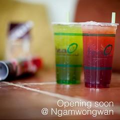 Soon available in you neighborhood in Ngamwongwan (TeaO&Crepes) Tags: square thailand bubbletea tea drink bangkok squareformat boba taiwanese pearltea pearlmilktea ngamwongwan teao iphoneography instagramapp