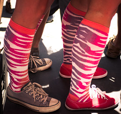 nice socks (JJBBLLKK) Tags: sf sanfrancisco gay party house fun dance crazy rainbow dj remix fringe oasis lgbt indie electro gaypride whitehorse madrone getlucky clubdrama indieoasis