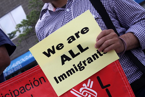 Launch of Education Campaign on Immigration Rights, From FlickrPhotos