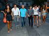 Carol Anthony, Greg Lake, Julian Simmons, Philip Olivier, Glenda Gilson, Nadia Forde, Layla Flaherty The cast of TV3's Celebrity Salon arrive at Harry's Bar to film Karaoke scenes at the Stephens Green venue Dublin, Ireland