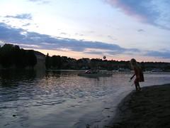 Evening.. (Ms Kat) Tags: river island prague praha vltava streleckyostrov mrowrr