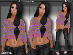 Whisper (:Indecision:) Tags: sexy stockings outfit dress womens jeans elf dresses casual neko tshirts tubetops faun bras garters capris tanktopjeans topscasual meshlazy topcasual apparelskirts