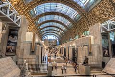 Musée d'Orsay (Fil.ippo) Tags: muséedorsay rive gauche paris pariigi museum museo interior interno hdr filippo filippobianchi d5000 nikon travel viaggi statue parigi