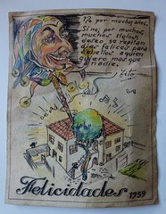 From Morocco with love. 1.939 (Franco DAlbao) Tags: family familia lumix war drawing uncle postcard guerra recuerdo memory postal dibujo ernesto to leicalens dalbao francodalbao