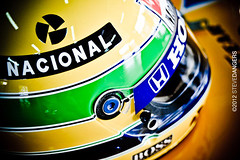 Ayrton (Steve Dangers) Tags: helmet casco senna ayrtonsenna