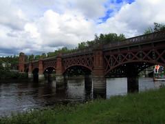 Journey To The Past (Bricheno) Tags: bridge river scotland riverclyde clyde glasgow railway escocia szkocja gorbals schottland scozia écosse newgorbals thegorbals 蘇格蘭 escòcia cityunionrailwaybridge σκωτία स्कॉटलैंड bricheno scoția