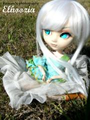 Elhoozia <3. (ʚ Qeridwen) Tags: white 3 beauty d wig pullip fc koizumi usagihime stica elhoozia lapetitekoizumi