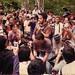 BALAWAN JUMPING TO AUDIENCES AT UNIVERSITAS INDONESIA 2006