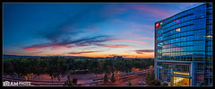 Transiting Surprises (Aaron M Photo) Tags: california sunset sky panorama sun color toxic solar sunnyvale construction nikon venus pano hangar large shell panoramic structure dot nasa motorola transit planet airship planets ames hanger solarfilter macon hangerone transitofvenus freestanding nasaames toxins ussmacon hanger1 siliconvalleyphotography aaronmeyersphotography largefreestandingstructure