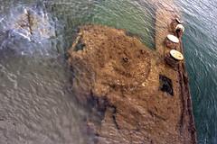 USS Arizona 01 (MitchRJ81) Tags: ocean arizona water hawaii harbor pearl wreck uss