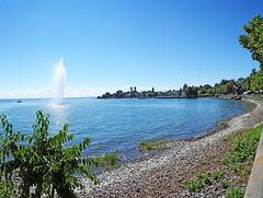 Friedrichshafen, Bodensee (x_hanni) Tags: panorama water fountain nikon wasser springbrunnen bodensee fridrichshafen d300s