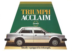 auto car honda advertising triumph civic 1983 ballade acclaim