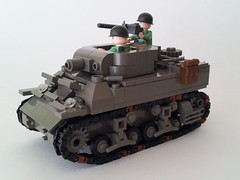 M8 Howitzer Motor Carriage (Project Azazel) Tags: google lego stuart pa m8 ww2 ba wwll googleimages odg lighttank brickarms stuartlighttank legotank thesecondworldwar legoww2 ww2lego howitzermotorcarriage