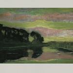 Piet Mondrian, Large Landscape, 1907
