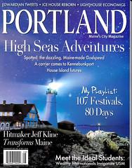 Portland Magazine July Aug 2012 Cover (Cindy Farr-Weinfeld) Tags: longexposure night magazine portland stars maine nighttime cover publishing starry afterdark portlandheadlight publication portlandmagazine