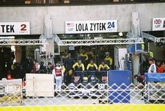 Binnie MotorsportsLola B05/42-ZytekLMP2 (Moments of Yesterday) Tags: france film 35mm 2006 mans le hours 24 amateur francais sarthe