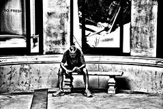 Fresh !!! (imagejoe) Tags: street people blackandwhite reflection nikon shadows lasvegas nevada thestrip