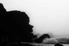 Face Rock (EDgY JraE) Tags: california statepark bw fog bigsur highway1 pacificocean hwy1 facerock coastalcalifornia crashingwave jrae limekilnstatepark canon50d chipera californiastateparkclosures californiastateparkclosure jessicaraephotography jraechipera