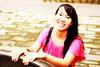 Nearby Lama temple (BenValjean) Tags: china travel pink girls portrait smile smiling female canon asian temple person eos dress chinese beijing 北京 中国 dslr 人 女 微笑 500d 中国人 粉红色 礼服 eos500d benjamingoodacre goodacrephotography