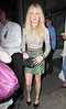 Diana Vickers arriving at Mahiki nightclub London, England